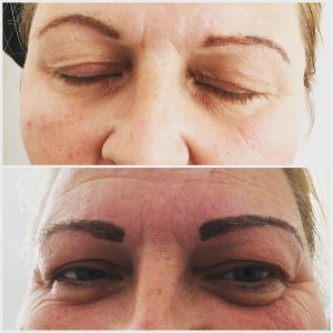Eyebrow top up
